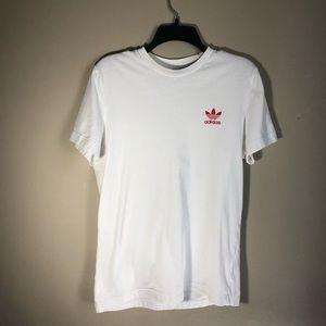 Adidas Originals Men's Medium NMD tee shirt white